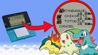 pokemon liquid crystal cheats all three starters