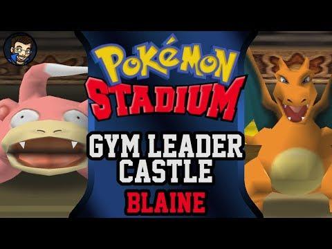 Pokémon Stadium - Gym Leader Castle | Blaine |