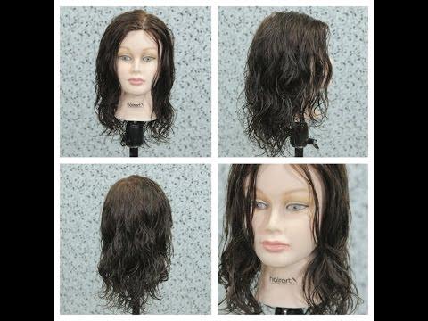 Haircut Tutorial - Wavy Hair with Layers