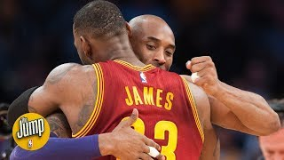 Kobe Bryant on LeBron James going to Lakers: