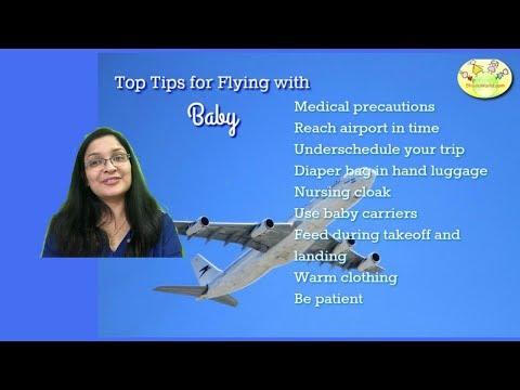 Top 10 tips for air travel with baby in Hindi   शिशु के साथ हवाई सफर के लिए टिप्स