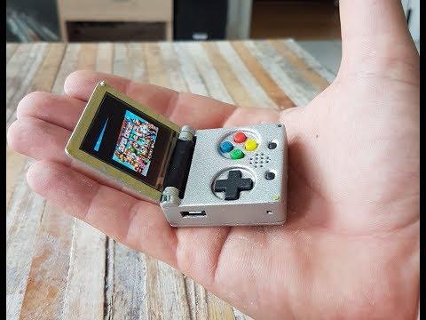 Keymu Demo  - open source keychain-sized gaming console