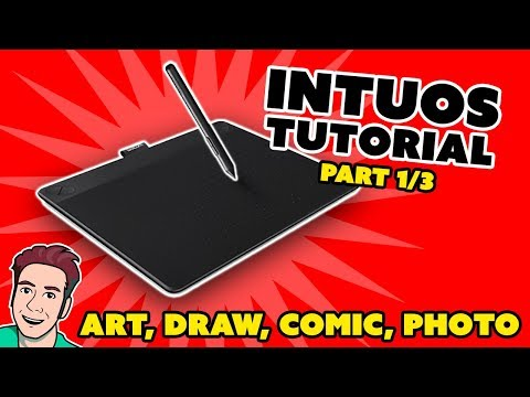 How to Install Wacom Intuos Drawing Tablet [Full Tutorial] (Part 1/3)