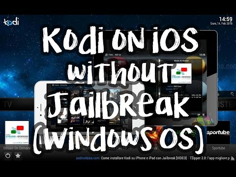 Kodi on iOS without jailbreak (Windows)