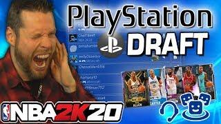 NBA 2K20 Playstation Party Draft