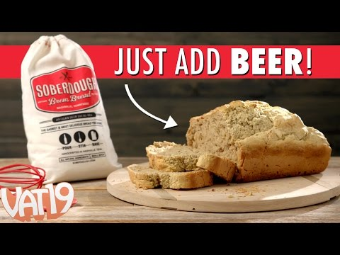 Soberdough Mix + Beer = The easiest, most delicious beer bread
