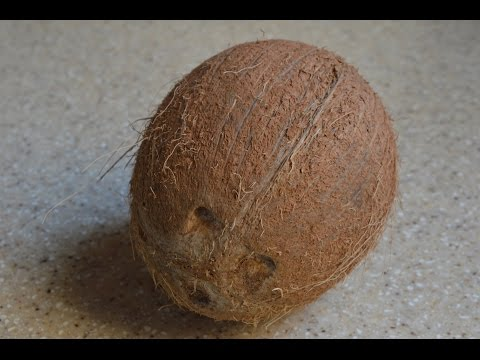 How To Easily Remove Coconut From Shell (View in HD)