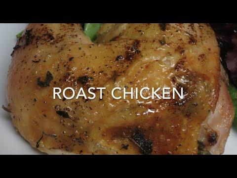 Herb Butter Roast Chicken - foolproof method for tender, juicy chicken