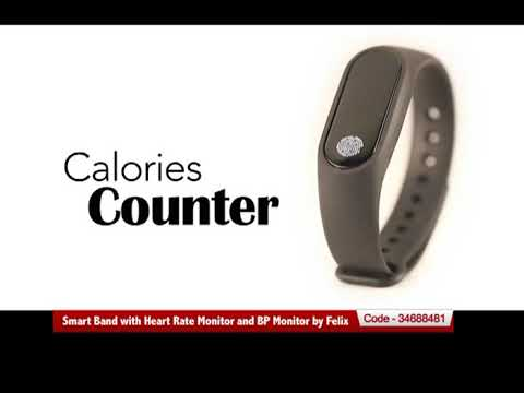 Smart Band with Heart Rate Monitor and BP Monitor by Felix