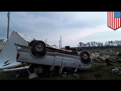 Severe weather, tornadoes strikes North Carolina