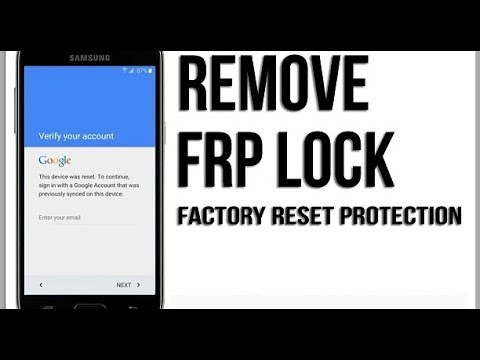 { Tutorial }Samsung FRP Unlock Part 2