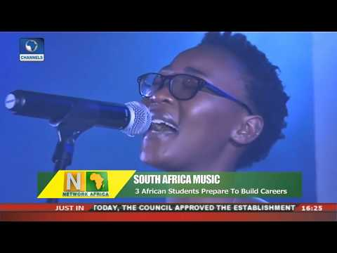 African Students Prepare To Build Music Career In South Africa   Network Africa  