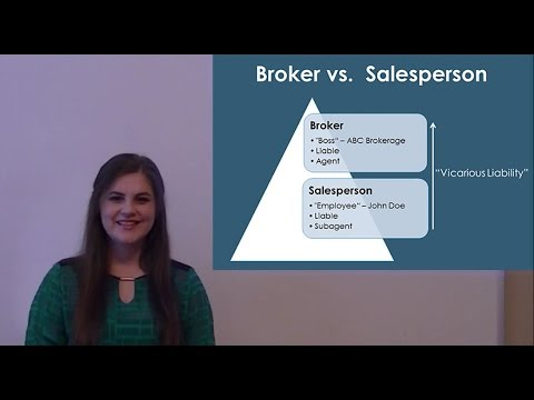 California Real Estate License Types - Broker vs. Salesperson