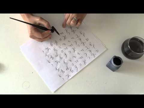 calligraphy Class Part II