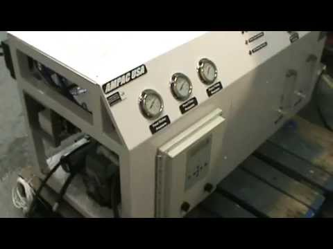 Ampac USA 1500GPD Reverse Osmosis Sea Water Desalination Water Maker Noise Level MPG