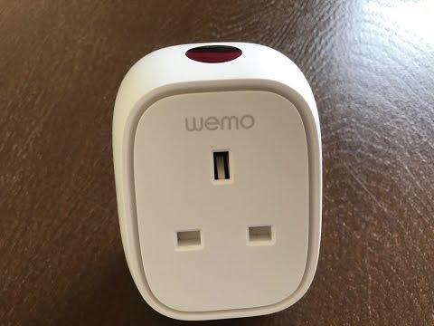 WeMo Insight Switch/Power usage monitor