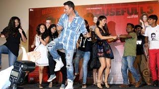 UNCUT Housefull 3 Team Dances With FANS | Akshay Kumar, Jacqueline, Abhishekh