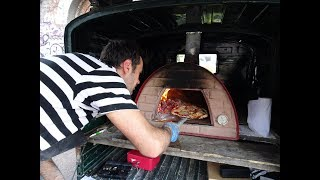 Italian Street Food: Artisan Wood Oven Piadina & Pizza by TukTuk Bakehouse, London.