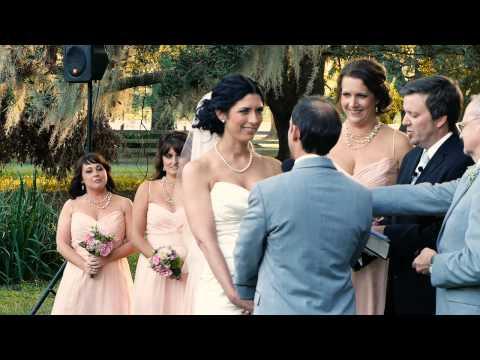 Wedding at The Mule Barn | Destrehan Plantation Louisiana