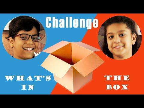 बॉक्स के अन्दर क्या है? चलिए देखते है | What's In The Box Challenge - Riva & Ashvat