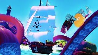 BECOMING THE KRAKEN IN VR!! - Kraken Virtual Reality - Kraken Game (VR HTC VIVE)