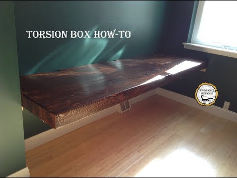 Woodworking : Torsion box Table // How-To Part 2