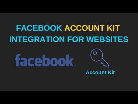 Facebook Account Kit integration for websites