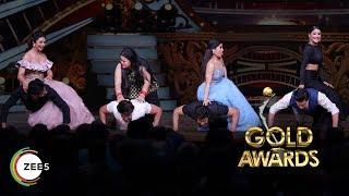 Bharti's Humorous Take on the Push-Up Challenge   ZEE Gold Awards 2018   EXCLUSIVE Sneak Peek