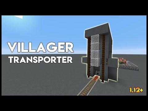 ✔ Minecraft | Villager Transporter 1.12+
