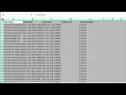 How to Make the Adjusted Column Spacing Even in Excel : Using Excel & Spreadsheets