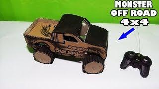 Membuat Mobil Mobilan Dari Kardus