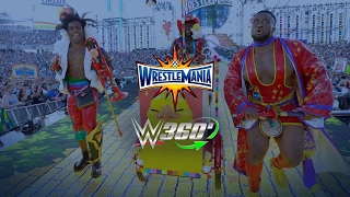 Exclusive videos from WrestleMania 33