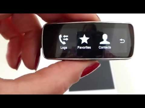 Samsung Gear Fit Phone App - How to start phone calls from the gear