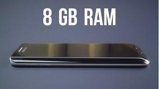 TOP 5 best smartphone with 8GB of ram (2017)