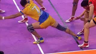 Tamil Thalaivas | Kabaddi | Ajay Thakur Super 10 vs Gujarat