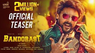 Bandobast - Official Teaser | Suriya, Mohan Lal, Arya | K V Anand | Harris Jayaraj | Subaskaran
