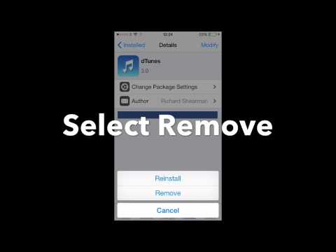 How to Delete/ Remove Cydia Apps on iPhone or iPad