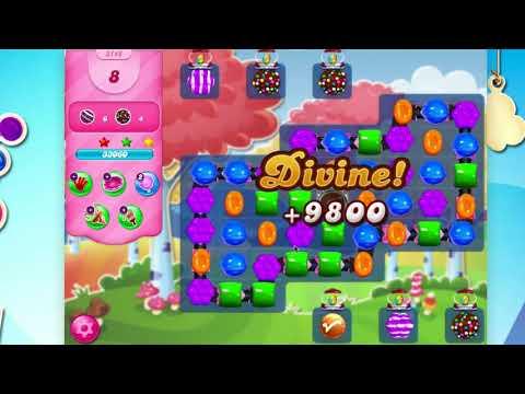 Candy Crush Saga Level 3148  No Booster