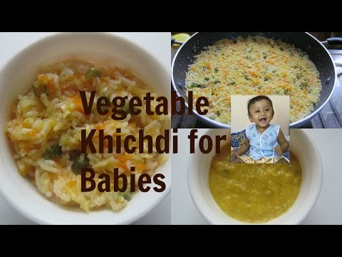 Veg khichdi for Babies