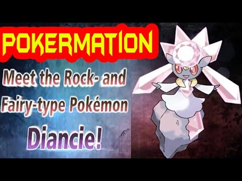 Pokemon X and Y Diancie Is Back (PowerSaves)