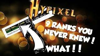 Hypixel YT Rank | ALL SPECIAL COMMANDS/PERKS! - PakVim net