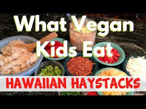 What Vegan Kids Eat - Hawaiian Haystacks