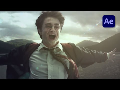 Harry Potter Teleport 'Apparition' Effect in After Effects - VFX TUTORIAL