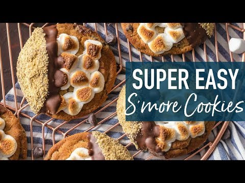 S'mores Cookies (EASY Cookie Recipe!