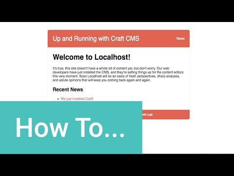 How to Install Craft CMS