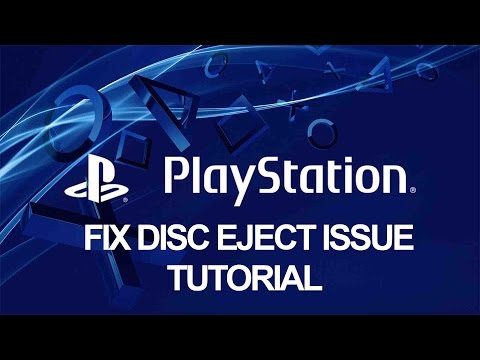 How to Repair Fix PS4 Auto / Unexpected Disc Eject - Playstation Tutorial
