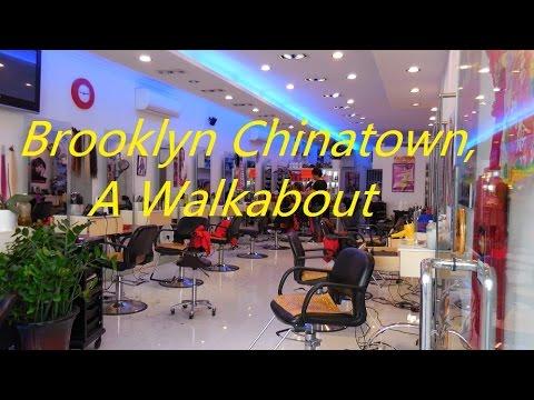 Chinatown-Brooklyn, NYC Walkabout -1080p HD