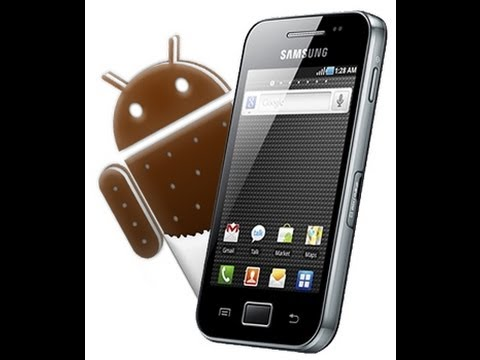 Como descargar e instalar Android 4.0.4 en Galaxy Ace S5830