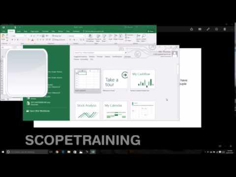 Excel multiple windows