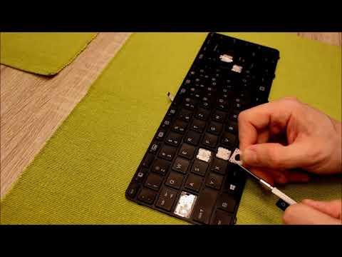 HOW TO: Keyboard Repair / Change Keyboard Layout - Replace Keys @ HP Probook [English]